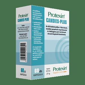 Protexin Candies-Plus probiotikum (60 db kapszula)