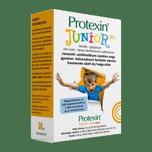 Protexin Junior probiotikum (30 db rágótabletta C-vitaminnal)